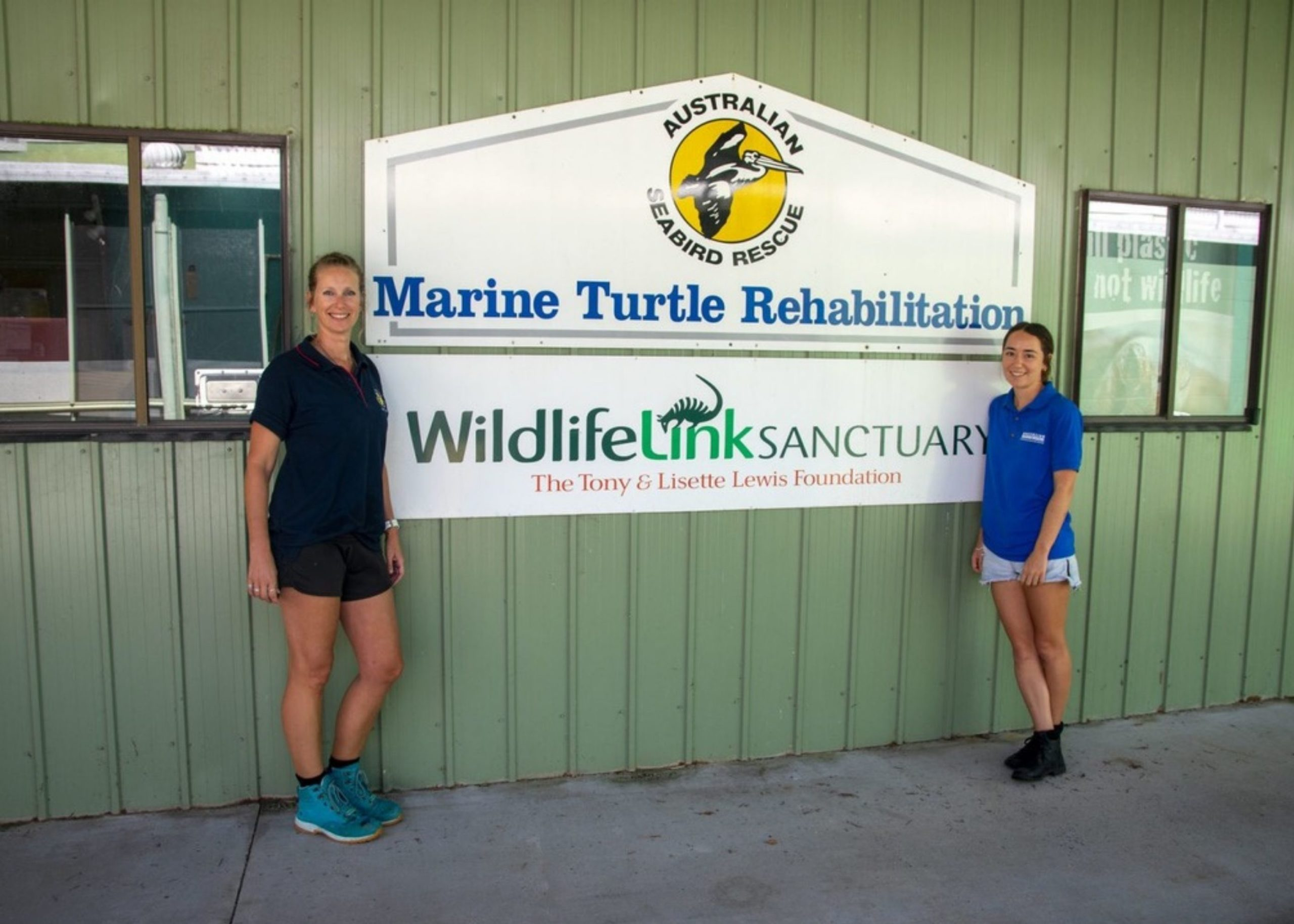 Outside view of the building from Australian Seabird Rescue